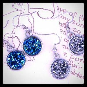❤️Dangle Druzy Earrings